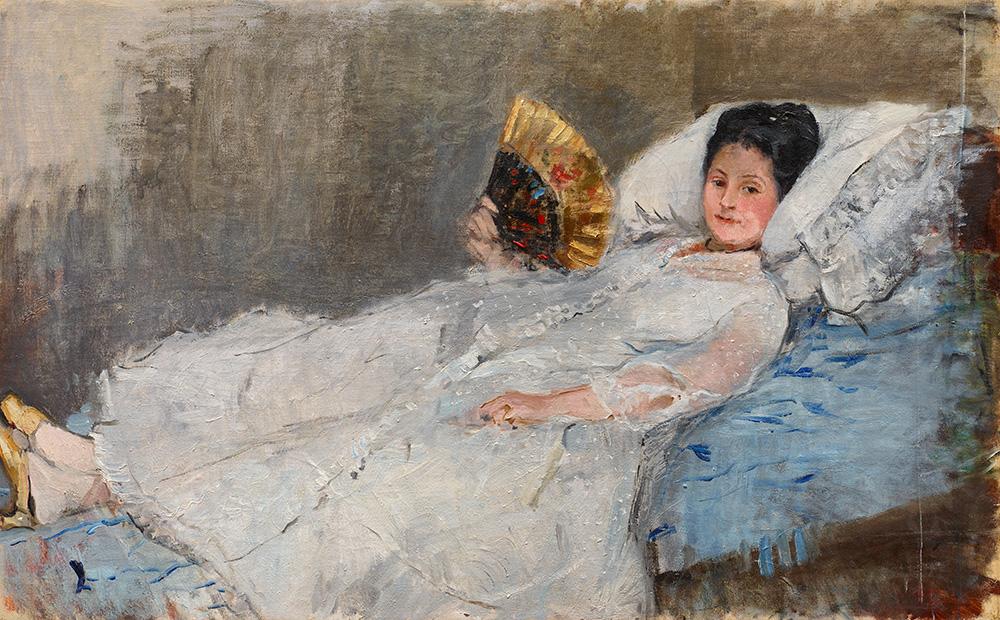 Berthe Morisot Dame med vifte - Anders Sune Berg