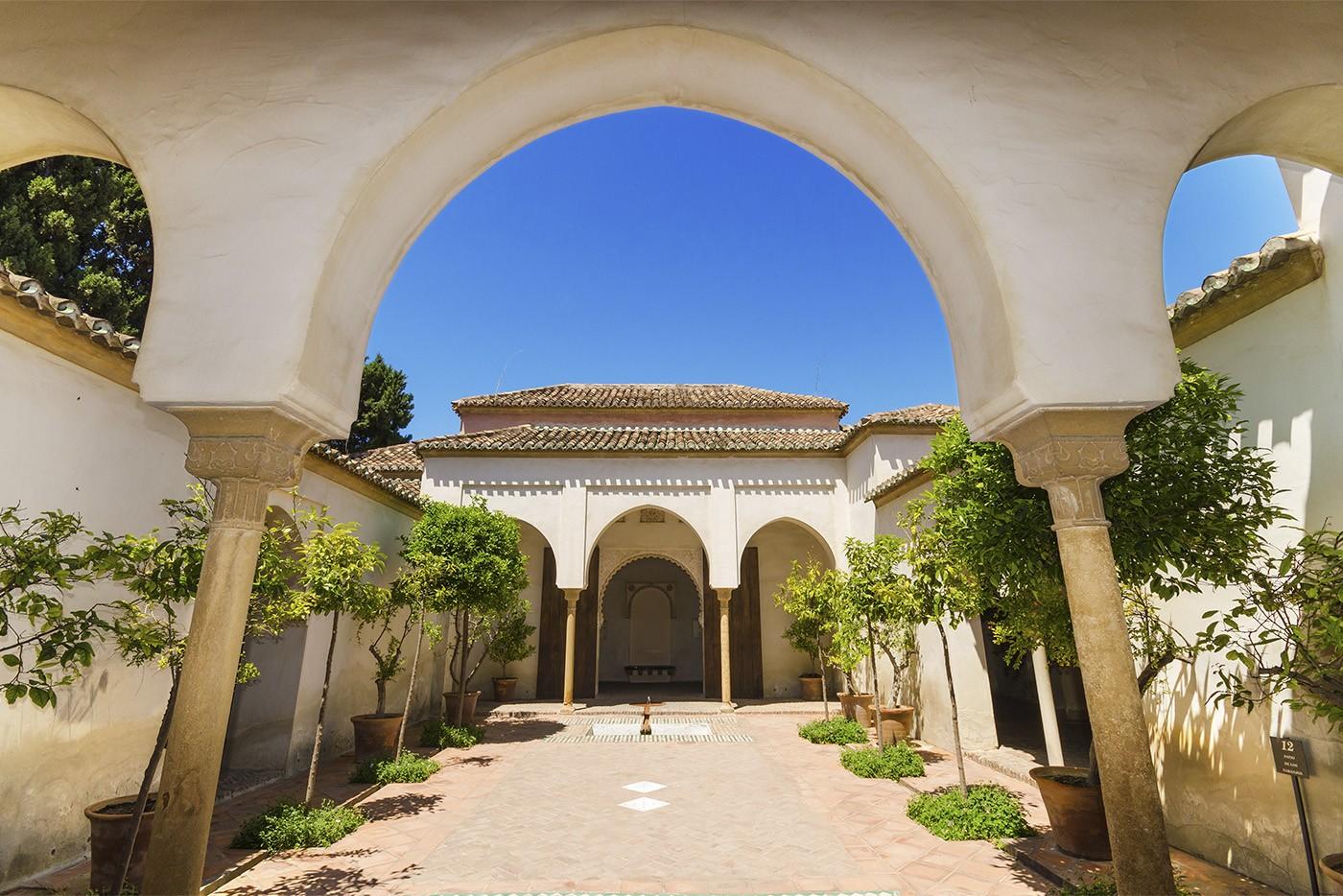 Alcazaba, Malaga, Andalousie