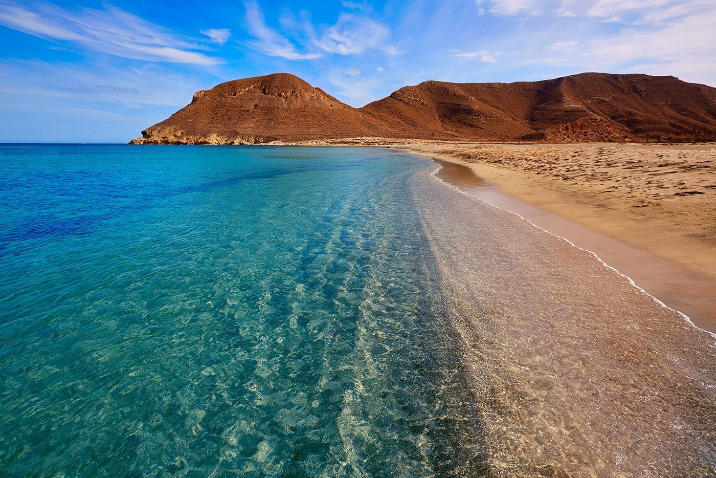 Plage Rodalquilar, Cabo de Gata, Andalousie