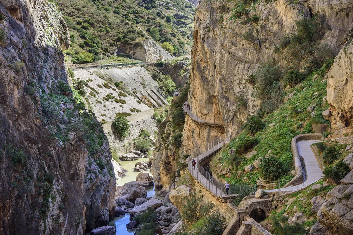 Caminito del Rey, Andalousie