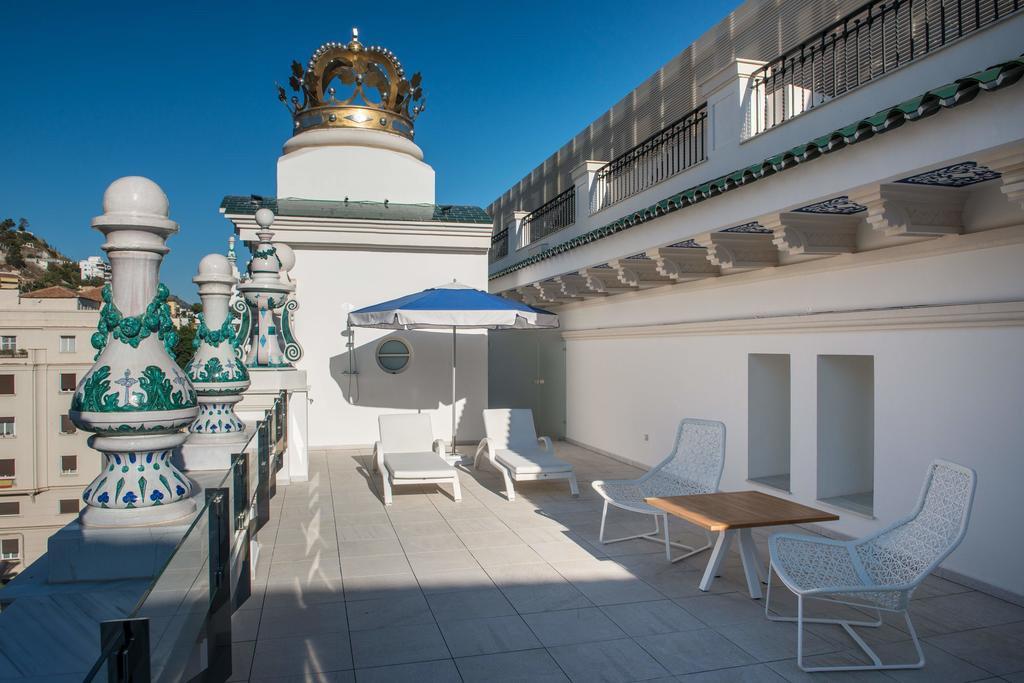 Gran Hotel Miramar, Malaga, Andalousie