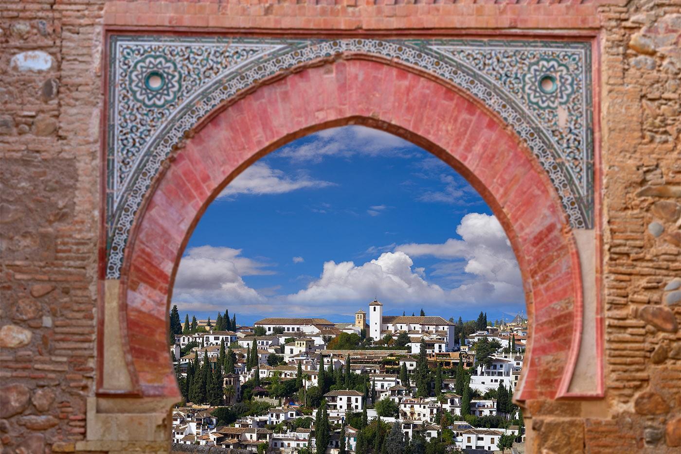 Grenade vue de l'Alhambra