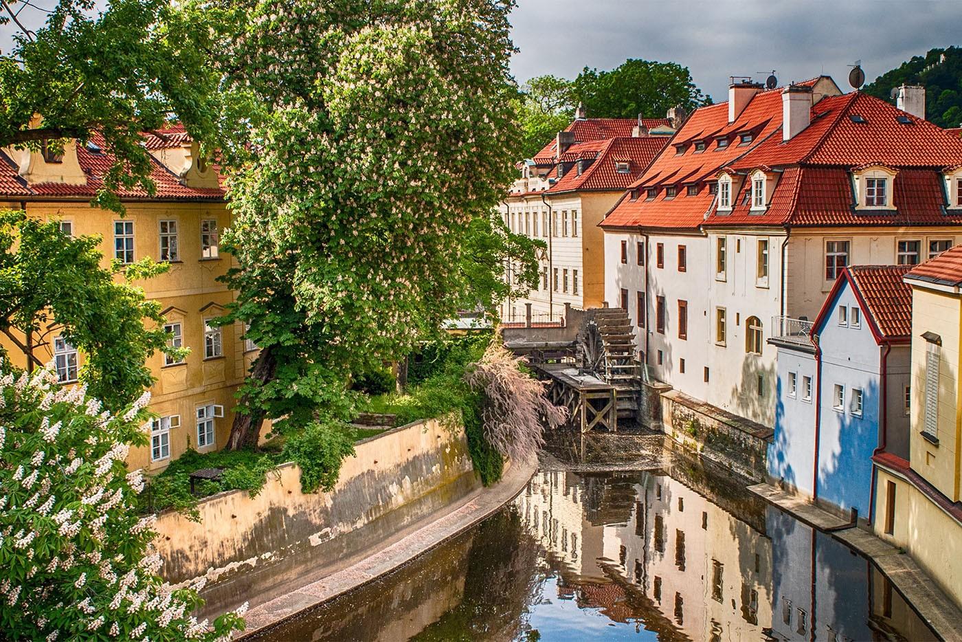 Ile de Kampa, Prague
