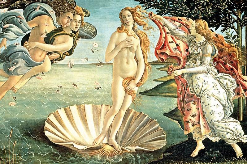La Naissance de Venus Boticcelli