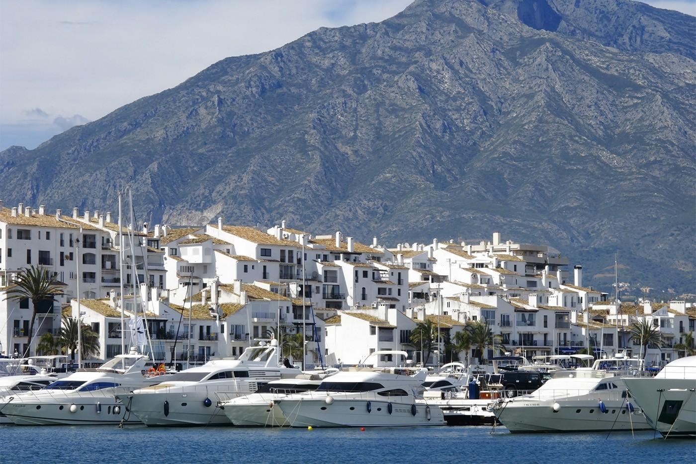Puerto Banus, Marbella, Andalousie