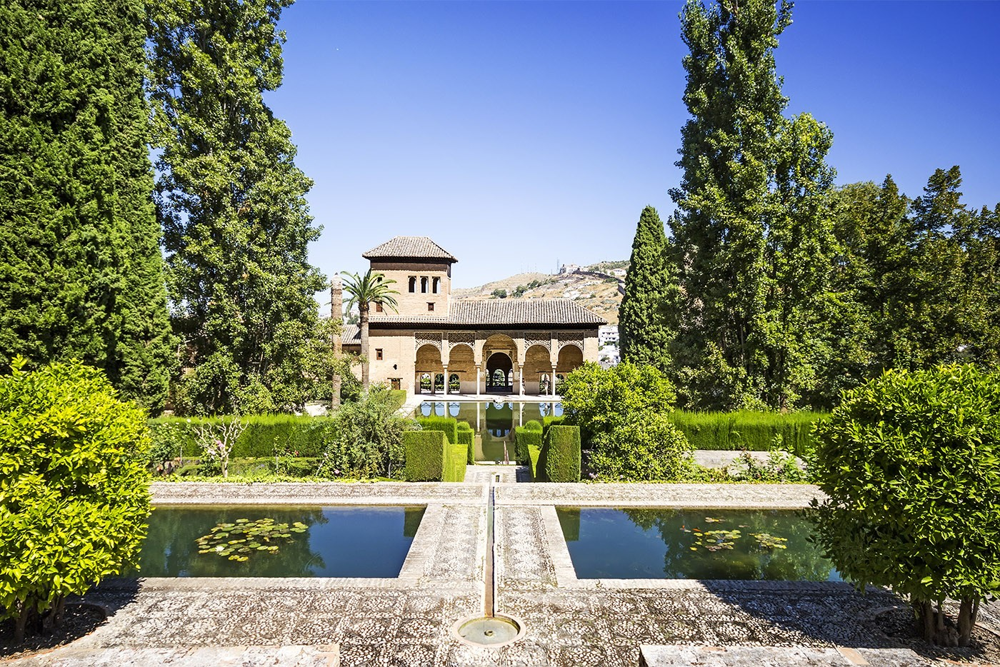 La Alhambra, Grenade, Andalousie