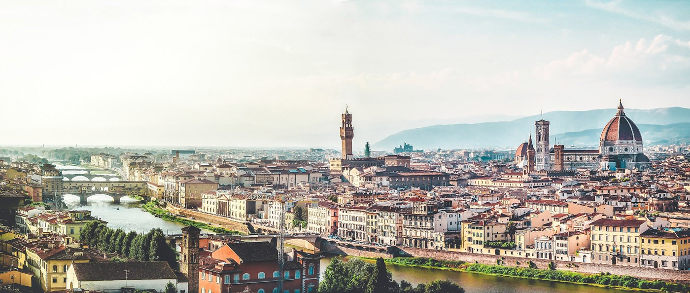 Vue panoramique sur Florence