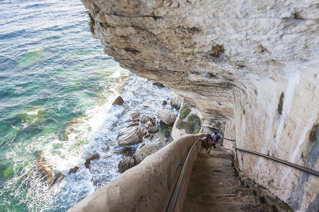 Escaliers du roi d'Aragon Bonifacio