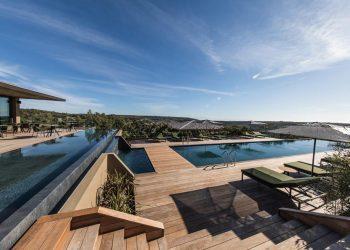 Hotel Version Maquis Citadelle piscine Bonifacio