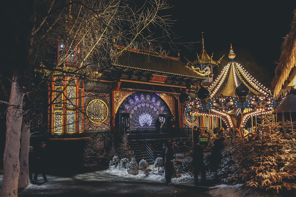 Jardins de Tivoli Copenhague