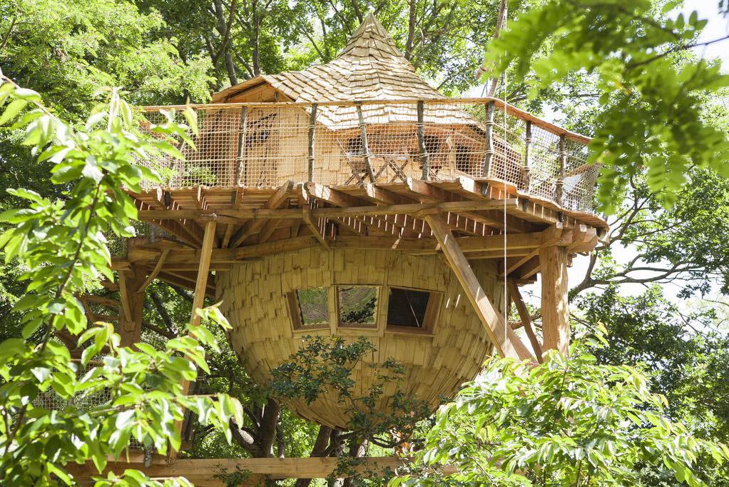 La Bateliere sur Loire cabane dans les arbres