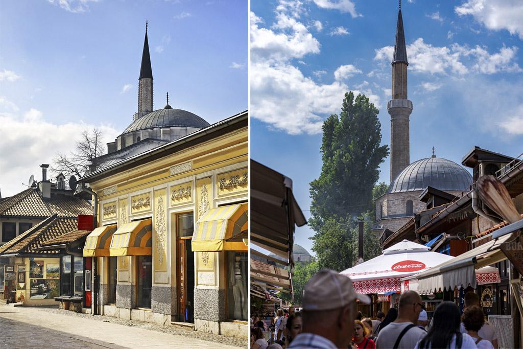 Vieux centre Sarajevo