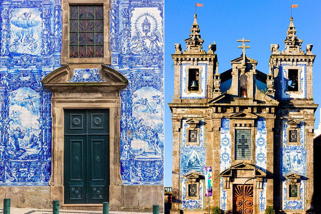 Chapelle das Almas et Eglise Santo Ildefonso Porto