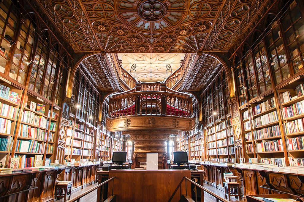 Lello librairie Porto