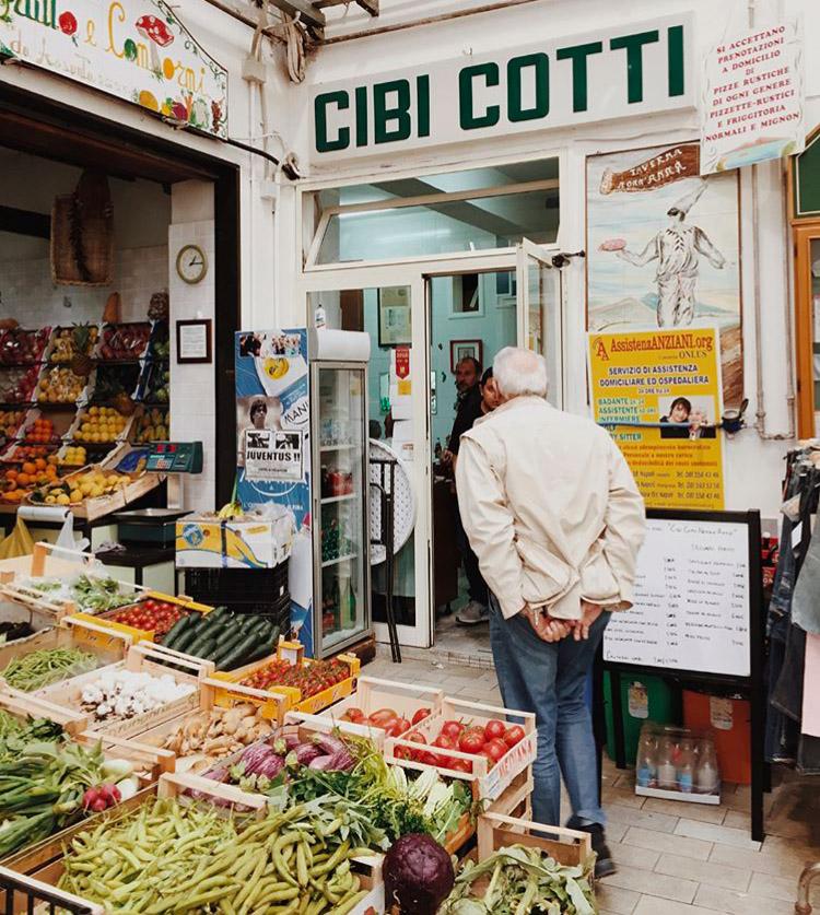 Naples authentique Cibi Cotti