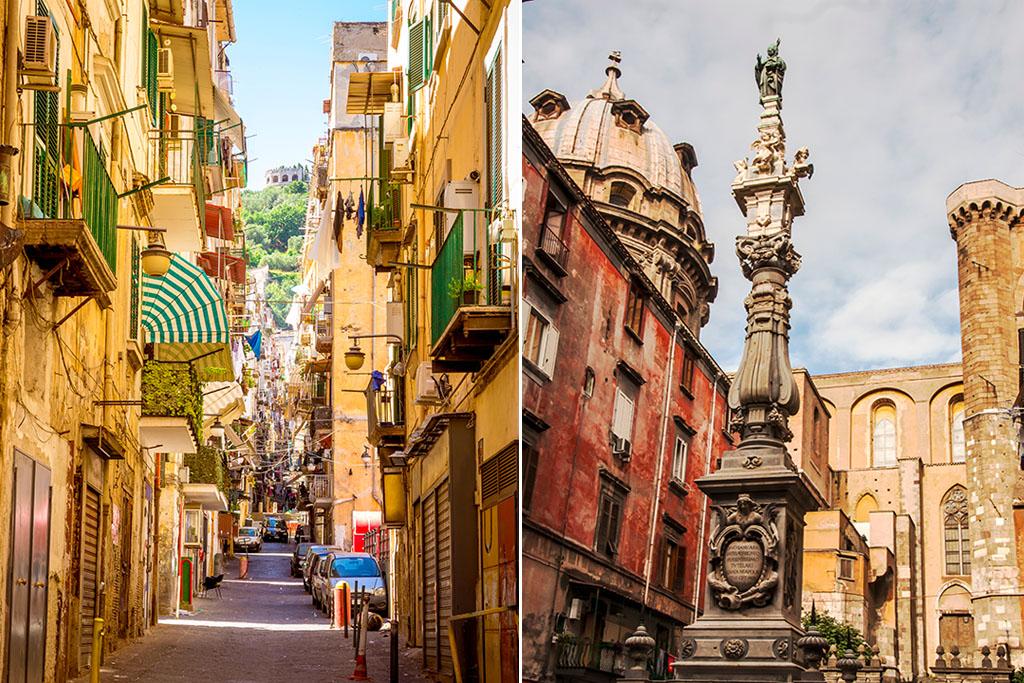 Naples centre historique