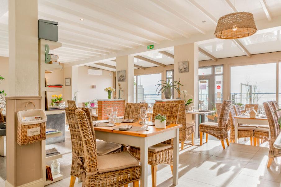 Bellevue restaurant Le Crotoy Baie de Somme