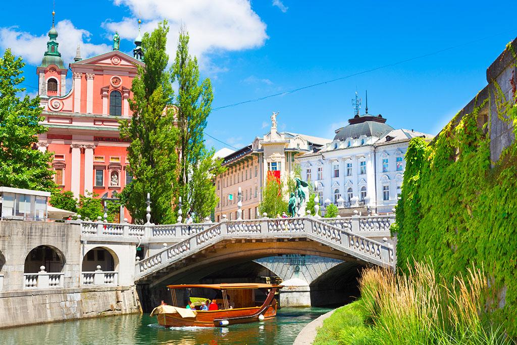 City-guide Ljubljana