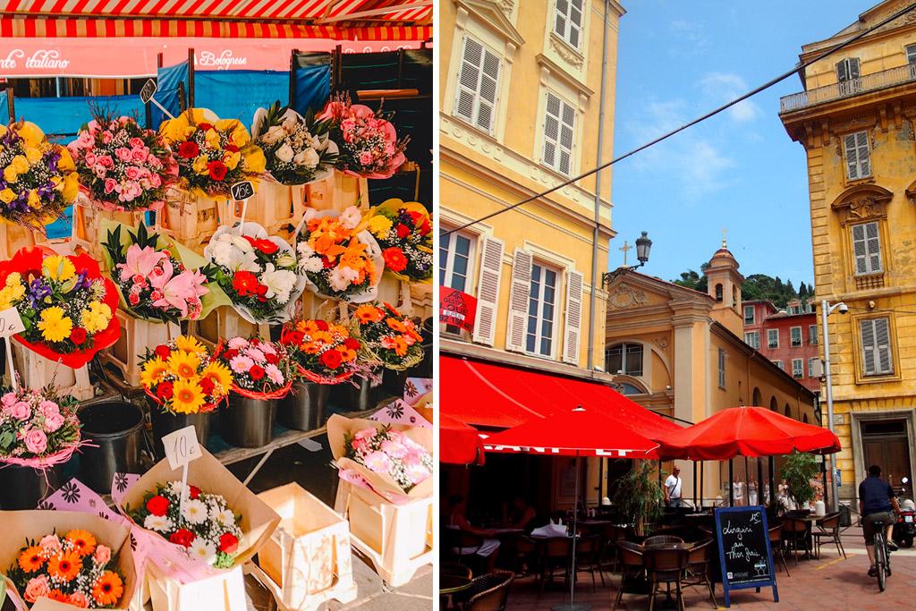 Cours Saleya Nice Marche aux Fleurs