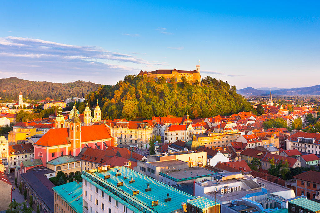 Vue sur Ljubljana