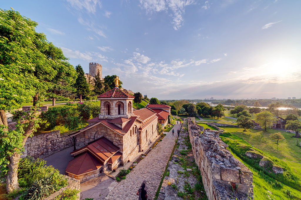 Forteresse de Belgrade et Parc Kalemegdan