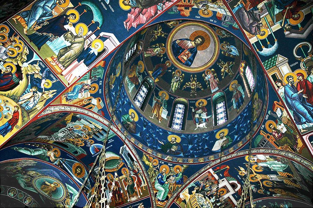 Crypte du temple Saint Sava Belgrade