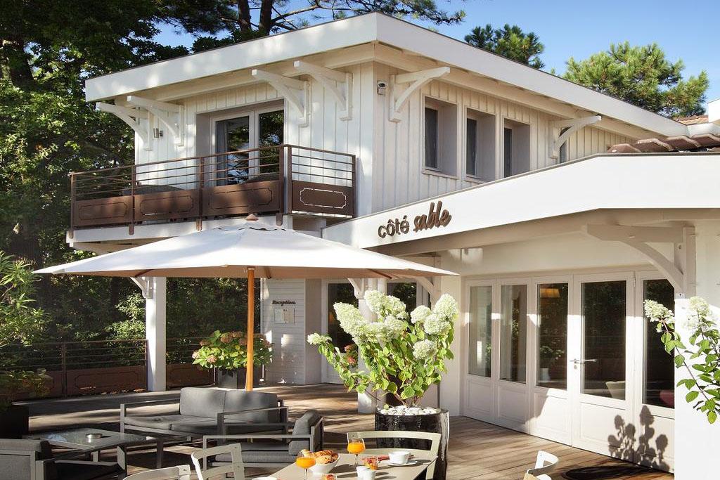 Cote Sable hotel charme pres Bordeaux Cap Ferret